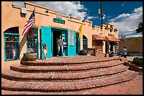 Adobe store, old town. Albuquerque, New Mexico, USA ( color)