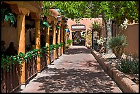 Alley, old town. Albuquerque, New Mexico, USA
