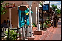 Stores, old town. Albuquerque, New Mexico, USA ( color)