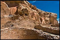 Chetro Ketl. Chaco Culture National Historic Park, New Mexico, USA (color)