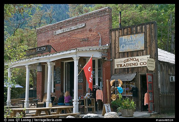 Genoa Saloon And Trading Company Nevada Usa