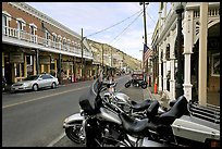 Main street. Virginia City, Nevada, USA