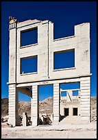 Bank ruins, Ryolite. Nevada, USA