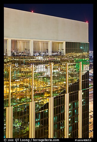Top of the Hotel at Mandalay Bay. Las Vegas, Nevada, USA (color)
