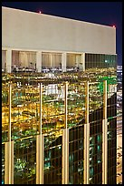 Top of the Hotel at Mandalay Bay. Las Vegas, Nevada, USA