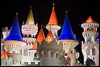 Castle-like Excalibur. Las Vegas, Nevada, USA