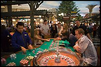 Roulette casino game. Las Vegas, Nevada, USA (color)