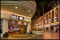 Casinos on Freemont Street. Las Vegas, Nevada, USA (color)