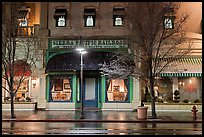 Historic Sierra Pacific railroad office in downtown. Reno, Nevada, USA ( color)