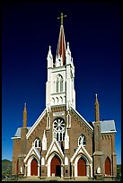 St Mary in the Mountains Church, afternoon. Virginia City, Nevada, USA ( color)