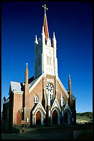 Catholic Church dating from 1876. Virginia City, Nevada, USA