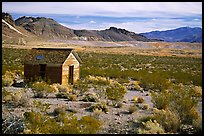 Cabin, Rhyolite ghost town. Nevada, USA (color)