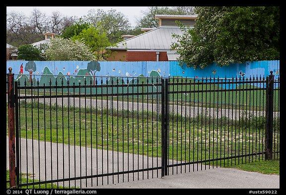 picture photo fence with landscape mural decor san interior decorating stores san antonio tx interior best