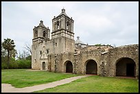 Mission Concepcion. San Antonio, Texas, USA ( color)
