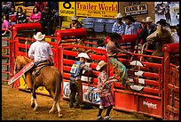 Gates, Stokyards Rodeo. Fort Worth, Texas, USA ( color)
