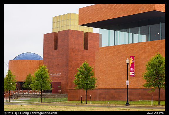 Forth Worth Museum of Science. Fort Worth, Texas, USA (color)