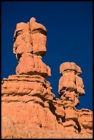 Hoodoos, Red Canyon, Dixie National Forest. Utah, USA ( color)