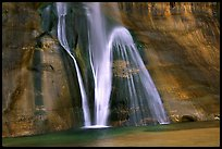 Lower Calf Creek Falls, Grand Staircase Escalante National Monument. Utah, USA (color)