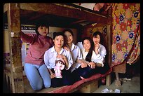 Hanoi-born teachers in the remote mountain outpost of Can Cau
