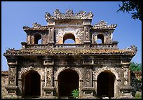 Gate, Hue citadel. Hue, Vietnam (color)