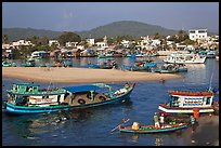 Entrance of Duong Dong Harbor. Phu Quoc Island, Vietnam ( color)