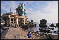 Cau Castle (a combination temple and lighthouse), Duong Dong. Phu Quoc Island, Vietnam (color)