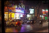 Evening Downpour. Ho Chi Minh City, Vietnam