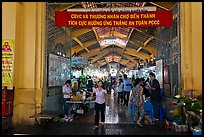 Gate, Ben Thanh Market. Ho Chi Minh City, Vietnam ( color)