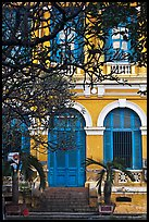 Colonial-area building. Ho Chi Minh City, Vietnam ( color)