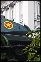 Soviet Tank, Museum of Ho Chi Minh City. Ho Chi Minh City, Vietnam (color)