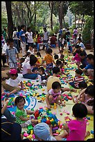 Playgound, Cong Vien Van Hoa Park. Ho Chi Minh City, Vietnam ( color)