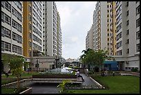 Residential towers, Phu My Hung, district 7. Ho Chi Minh City, Vietnam ( color)