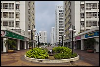Residential towers complex, Phu My Hung, district 7. Ho Chi Minh City, Vietnam ( color)