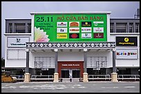 Shopping plaza, Phu My Hung, District 7. Ho Chi Minh City, Vietnam (color)