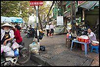 Street food vendors. Ho Chi Minh City, Vietnam