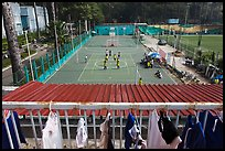 Sports Club,  Cong Vien Van Hoa Park. Ho Chi Minh City, Vietnam (color)