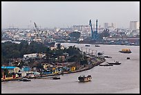 Port of Saigon. Ho Chi Minh City, Vietnam ( color)