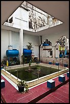 Mosque pool, Cholon Mosque. Cholon, District 5, Ho Chi Minh City, Vietnam ( color)
