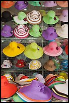 Colorful hats for sale. Ho Chi Minh City, Vietnam ( color)