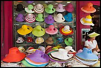 Store selling hats. Ho Chi Minh City, Vietnam ( color)