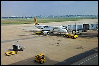 Tarmac, Tan Son Nhat International Airport. Ho Chi Minh City, Vietnam (color)