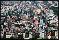Aerial view of houses. Ho Chi Minh City, Vietnam ( color)
