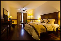 Victoria Can Tho Resort guestroom. Can Tho, Vietnam ( color)