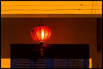 Paper lantern at night. Hoi An, Vietnam ( color)