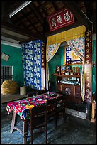 Interior of Cam Kim village home. Hoi An, Vietnam ( color)