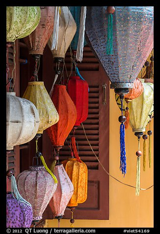 Lanterns for sale. Hoi An, Vietnam (color)