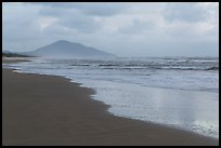 Beach in cloudy weather. Vietnam ( color)
