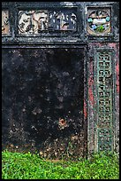 Weathered wall, imperial citadel. Hue, Vietnam (color)