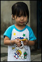 Young Girl, Thanh Toan. Hue, Vietnam (color)