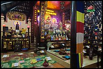 Inside Phung Son Pagoda, district 11. Ho Chi Minh City, Vietnam ( color)
